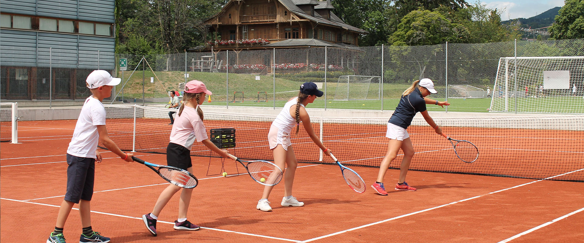 Tennis Masters Camp Summer Montreux